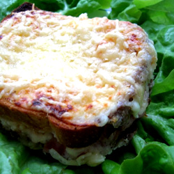 Croque monsieur la cr me fra che - Croque monsieur au four creme fraiche ...